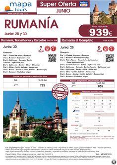 Rumanía salidas Junio **Precio Final desde 939** ultimo minuto - http://zocotours.com/rumania-salidas-junio-precio-final-desde-939-ultimo-minuto-4/