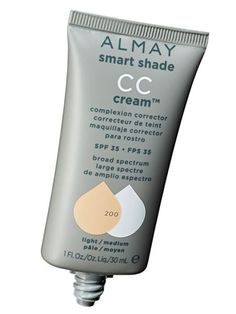 """Best CC cream--Almay Smart Shade CC Cream Complexion Corrector SPF 35, $9.99 Think of a CC as a BB on steroids: It has a little more coverage, and this one helps fade dark spots. """"The cream looks and feels like a terrific foundation, and goes on so smoothly and has excellent skin brighteners like mulberry and licorice extracts."""