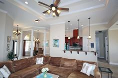 I love the high ceilings in this navarre home #homedecor #amazing #dreamhome