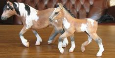 Repaints of Schleich Haflinger mare and Andalusian foal Repaints Schleich Schleich Horses Stable, Horse Stables, Horse Online, Bryer Horses, Horse Sculpture, Clydesdale, Plastic Animals, Doll Repaint, Horse Art