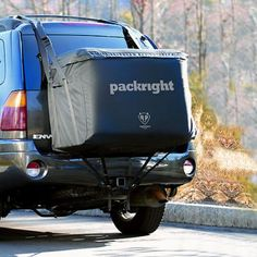TOTALLY have to to get one of these!!!Giant back-pack for SUV   PackRight 14 Cubic Foot Vehicle Cargo Saddlebag