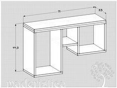 Dimensiones: 71 largo x 45 alto x 23 profundidad.  <br /><br /><br /> <br /><br /><br />La repisa 'Caprichito' es la más pequeña de las repisas de la serie 'caprichos' de maderística. De líneas simples y fuerte presencia, mezcla perfecta de repisa, estante y mesa de arrimo, resultan ideales para ubicarlas junto a la puerta acceso, en el living, en el estudio para los libros, en el dormitorio o en la pieza de los niños.  <br /><br /><br /> <br /><br /><br />Confeccionados a mano en terciado…