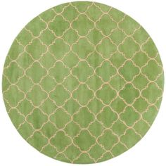 Chatham Green 7 ft. x 7 ft. Round Area Rug