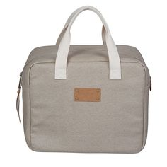 """Geanta frigorifica """"Lunchtime"""" Picnic Cooler, Lunch Time, Best Sellers, Cotton Canvas, Diaper Bag, How To Make, Fabric, Bags, Grey"""