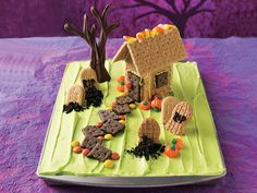 Graveyard Cake, I swear I am attempting this this Halloween!