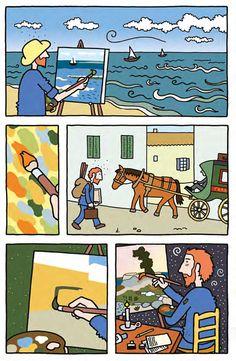 Vincent van Gogh Graphic Novel Barbara Stok