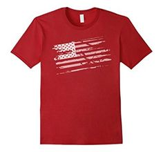 Amazon.com: USA American Flag T shirt - Represent the Eagle: Clothing distressed shirt,