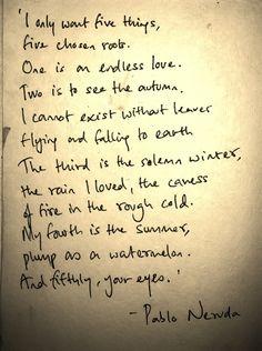 Die fünf Dinge