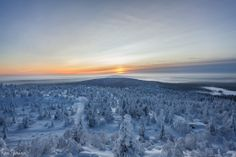 Landscape photographer from Northern Finland. Exploring from underwater to the arctic highlands. Winter Sunset, Midnight Sun, Image Notes, Timeline Photos, Best Cities, Landscape Photographers, Natural Beauty, Sunrise, Places