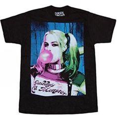 5dface322 Suicide Squad Harley Quinn Bubble Gum Mens T Shirt Batman XL #DCComics # GraphicTee #