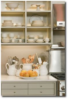 Martha Stewart Kitchen Set which is modeled after the one in her Bedford, New York, house.