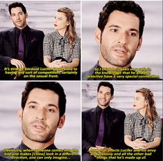 Tom Ellis talking about his character Lucifer