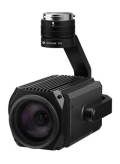 DJI Zenmuse Z30 camera.  This camera has a 30 X Optical zoom and can be mounted on the DJI Matrice 100 and Marice 600 drones.