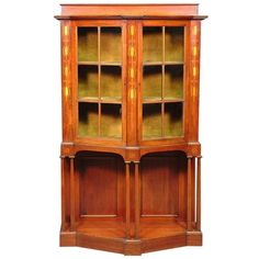 Arts And Crafts Mahogany Display Cabinet By G M Ellwood 1 Design Furniture