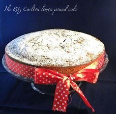 The Ritz Carlton Lemon Pound Cake: a luxury experience starts in the kitchen!