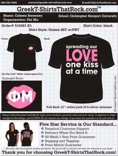 Start your Phi Mu Fall Recruitment Shirts HERE!  Just click this image and upload your ideas! #phimui #recruitment #bidday