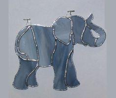 Elephant suncatcher by CreationsbyCaraM on Etsy https://www.etsy.com/listing/256147414/elephant-suncatcher