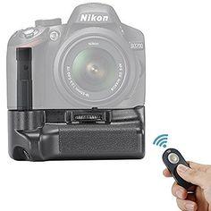 Neewer® Remote Control Vertical Battery Grip Work with EN-EL14 Battery for NIKON D3200/D3300 SLR Digital Camera, http://www.amazon.com/dp/B01871A1HA/ref=cm_sw_r_pi_awdm_x_-sv7xbMGX4ECN