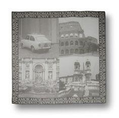 Foulard Moschino black & white