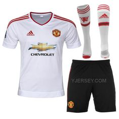 http://www.yjersey.com/1516-manchester-united-away-white-jersey-whole-kitshirtshortsock.html Only$45.00 15-16 MANCHESTER UNITED AWAY WHITE JERSEY WHOLE KIT(SHIRT+SHORT+SOCK) Free Shipping!
