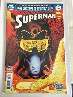 DC UNIVERSE REBIRTH SUPERMAN #3 Regular Cover A 1st PRINTING Comic Brand New  | eBay