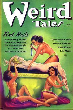 Pulp cover art by Margaret Brundage