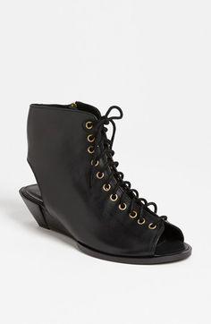 topshop 'flex' wedge sandal.
