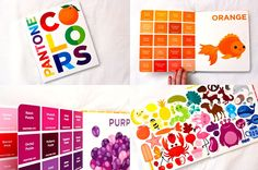 Pantone Colors board book. My kids love this. They'll spend ages looking at it together.