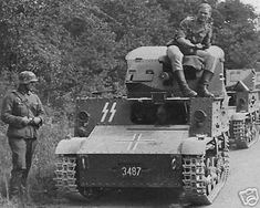 4.7cm Panzerjäger VA 802(b) (T.13 B3) Belgian tank developed on the basis of artillery tractors Vickers-Carden-Loyd