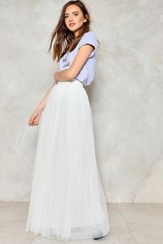 Tulle For You Maxi Skirt