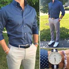 Mens Fashion Casual – The World of Mens Fashion Trajes Business Casual, Business Casual Outfits, Mens Fashion Blog, Fashion Mode, Stylish Men, Men Casual, Smart Casual Menswear, Formal Men Outfit, Semi Formal Outfits