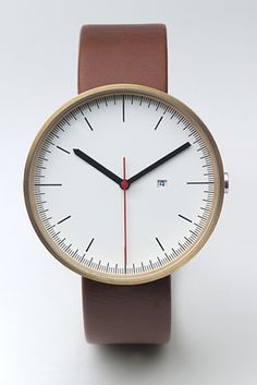 // 200 Series Calendar watch is meant to reference the classic engineering of machined gauges. $337 (via notcotoure)