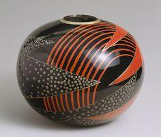 Jean Dunand: Vase (1998.194ab) | Heilbrunn Timeline of Art History | The Metropolitan Museum of Art
