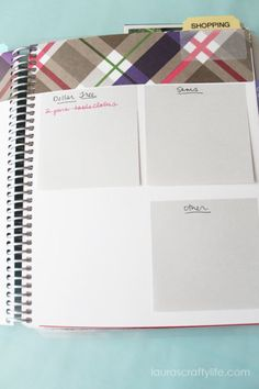 use post its for shopping lists