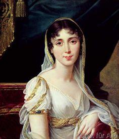 Robert Lefevre - Desiree Clary (1781-1860) Queen of Sweden, 1807