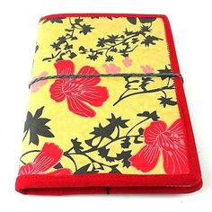 Spring Flower Journal with Red Trim - Matr Boomie (J)
