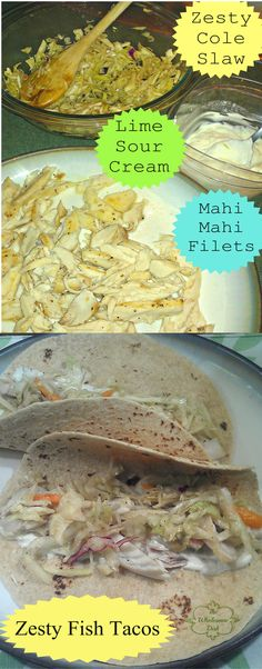 Zesty Fish Tacos - Healthy and delicious!
