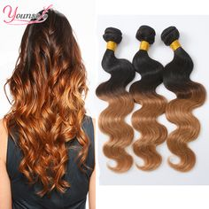 Cheap hair weave in bulk, Buy Quality hair ornament directly from China hair maker Suppliers:  T1B/27 Ombre Hair Indian Virgin Hair Body Wave 4 Bundles Ombre Human Hair Weave Ombre Indian Body Wave 2 Tone Omber Vir
