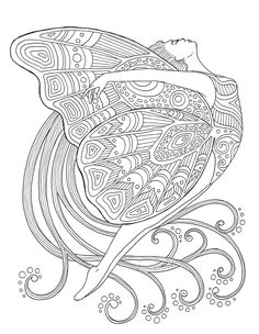 Princess Sea Girl Mandala Adult Coloring one of the most popular coloring page in Adults category. Explore more coloring pages like Princess Sea Girl Mandala Adult Coloring from the Coloring. Fairy Coloring Pages, Printable Adult Coloring Pages, Coloring Pages For Girls, Mandala Coloring Pages, Animal Coloring Pages, Coloring Books, Coloring Sheets, Mandala Art, Moon Mandala