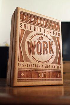 Custom Etched Wood Box, $45 by Tinkering Monkey