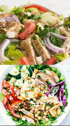 Healthy Foods To Make, Healthy Diet Recipes, Healthy Eating, Cooking Recipes, Healthy Snacks, Best Tuna Salad Recipe, Chicken Salad Recipes, Creamy Balsamic Dressing, Clean Eating