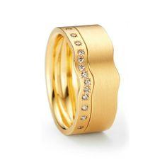 Swing Ring by Niessing - Gold #ring #designer #cambridge #diamonds #Niessing