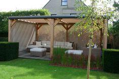 Tuin Met Overkapping : Best overkapping voor de tuin images gardens
