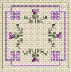 A Girl As Mad As Birds: Happy New Year! - Free Cross Stitch Charts!