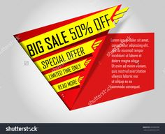 Sale Banner Template. Super Offer, Limited Time Only. Big Sale 50% Off. Special…