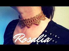 """Gargantilla """"Rosalía"""" (ganchillo / crochet) - YouTube"""