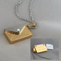 Love Letter Magnetic Locket - Necklace