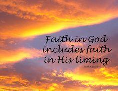Faith in God