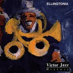 1997 Victor Jazz History Vol.12: Ellingtonia [BMG 74321357312] cover painting by Alice Choné #albumcover