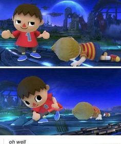 Villager & Lucas Smash 4